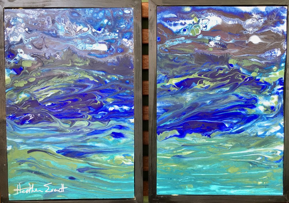 Reef 1 (Diptych)
